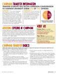 Transfer Brochure - Chapman University - Page 3