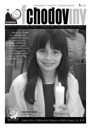 Fchodoviny 5/2013 - Komunitní centrum Matky Terezy