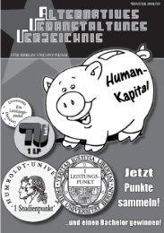 AVV winter200809backup2.indd - Bildungswiki - Bildung schadet nicht