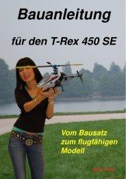 für de n T-Re x 450 SE - Elektromodelle.ch