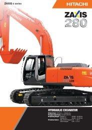 Hitachi Zaxis 280