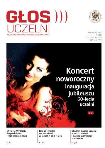 """""""Głos Uczelni"""" nr 202"""