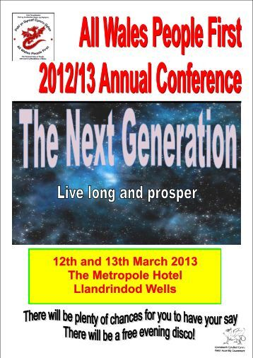 12th and 13th March 2013 The Metropole Hotel Llandrindod Wells
