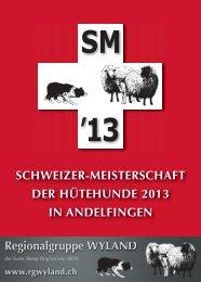 SCHWEIZER-MEISTERSCHAFT DER HÜTEHUNDE 2013 IN ...