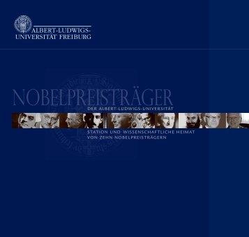 Nobelpreisträger der Universität Freiburg - Albert-Ludwigs ...