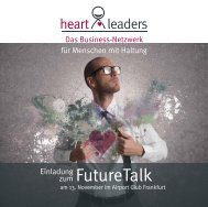 Download Einladung - heartleaders