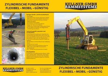 zylindrischE FundamEnTE FlExibEl • mobil • GünsTiG zylindrischE ...