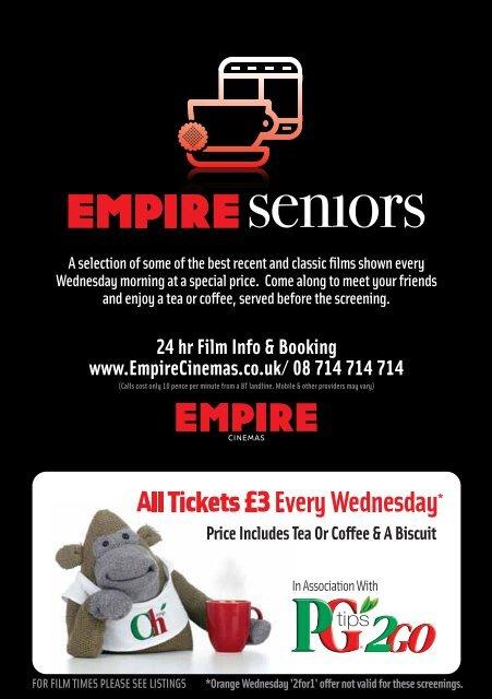 Birmingham Clydebank Newcastle Sutton Empire Cinemas