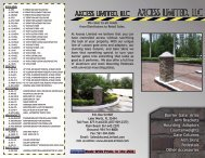 Click Here to Download our Brochure (PDF) - Axcess Limited, LLC
