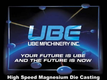 Magnesium - UBE Machinery Inc.