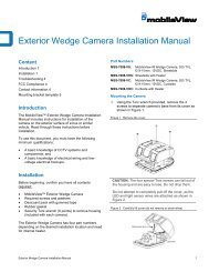 MobileView Exterior Wedge Installation Manual - Interlogix