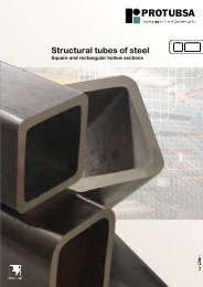 Square and rectangular hollow sections EN 10210 - Protubsa