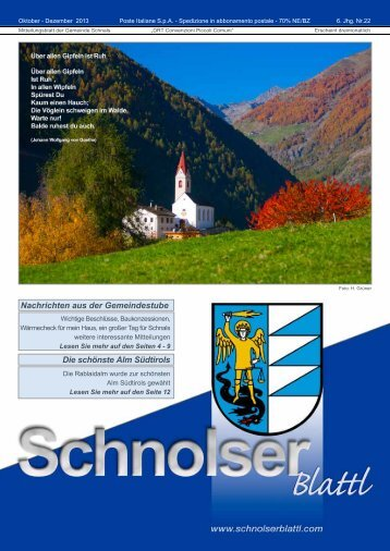 PDF-Download 2,3 MB - Schnolserblattl