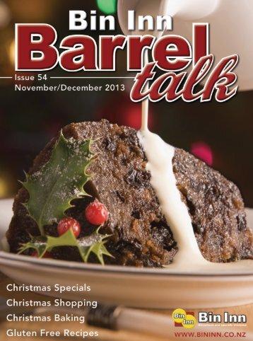Barrell Talk issue 54 »7318KB PDF - Bin Inn