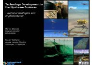 Technology Development in the Upstream Business ... - Demo 2000