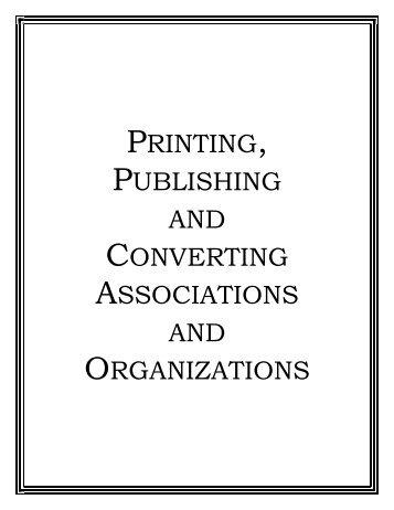 Printing, Publishing and Converting Associations - NPES