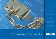 CHUBB PRODUCT CATALOGUE v2 - Lumsden Security