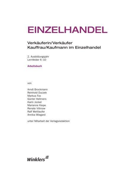 EINZELHANDEL - f.sbzo.de