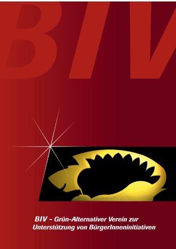 Jahresbericht 2008 - BIV