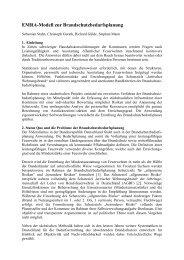 EMRA-Modell zur Brandschutzbedarfsplanung - Otto-von-Guericke ...