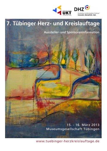 7. Tübinger Herz- und Kreislauftage - 8. Tübinger Herz- und ...