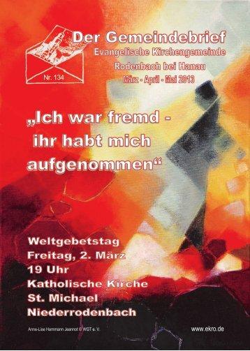 weiterlesen - evangelisch in Rodenbach