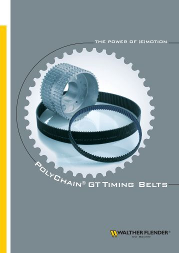 PolyChain® GT Timing Belts - Walther Flender