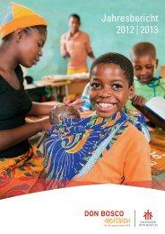 Jahresbericht 2012 | 2013 - Don Bosco Mission