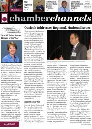Outlook Addresses Regional, National Issues - Affiliated Chambers ...