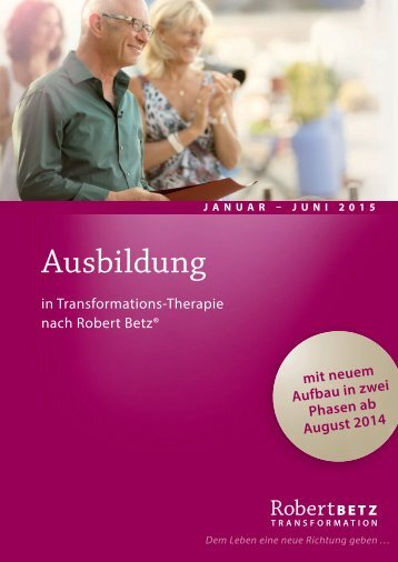 Download Broschüre - Robert Betz