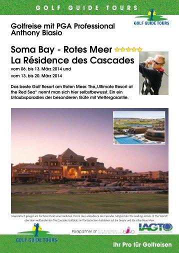 Soma Bay - Rotes Meer La Résidence des Cascades - Birs Golf AG