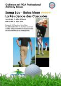 Soma Bay - Rotes Meer La Résidence des Cascades - Birs Golf AG - Seite 4