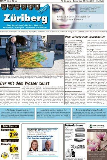 Der mit dem Wasser tanzt - Lokalinfo AG