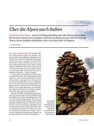Über die Alpen nach Italien - DAV Summit Club