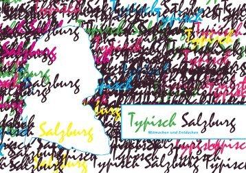 Typisch Salzburg Typisch Salzburg Typisch ... - ARTgenossen