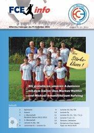 FCE-Info / Ausgabe Nummer 13/2013 - FC Entfelden