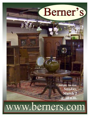 030208 catalog - Berner's Auction Gallery