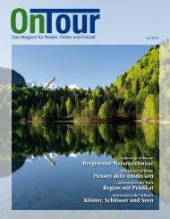 Bergeweise Naturerlebnisse Hessen aktiv ... - OnTour Magazin