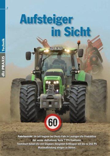 Serie 7 Fahrbericht - Deutz-Fahr