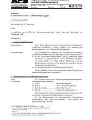 Reglement über Betriebsfeuerwehren - AFS - Amt für Feuerschutz St ...
