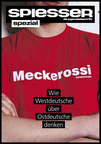 Wie Westdeutsche über Ostdeutsche denken - Bundesstiftung zur ...