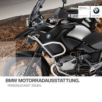 BMW MOTORRADAUSSTATTUNG.