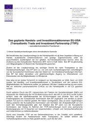 TTIP - Bernd Lange
