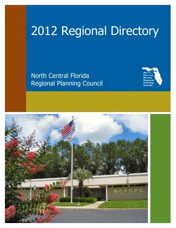 2012 Regional Directory - North Central Florida Regional Planning ...