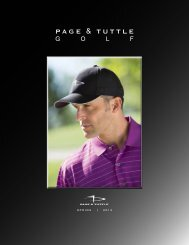 PAGE & TUTTLE - Golf Trends Inc.