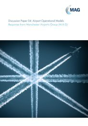 Airport Operational Models - MAG World