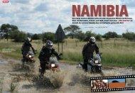 Karoo Biking im Motorrad Magazin Ausgabe 01/12
