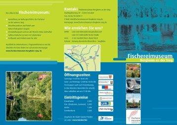 Fischereimuseum Bergheim an der Sieg - Stadt Troisdorf