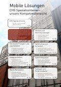 Broschüre CHS Spezialcontainer - Stand: Nov. 2013 - Seite 3