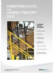 HSE Report 2012 deutsch - voestalpine